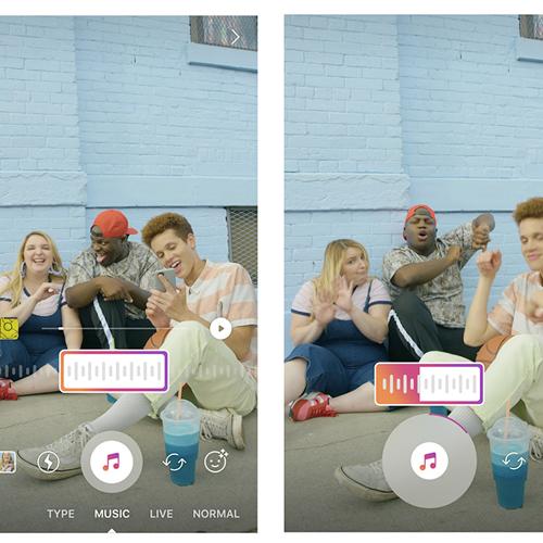 Com acordo entre Facebook e gravadoras, Instagram Music já está disponível em seis países.